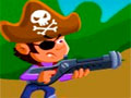 Cricket Invasion - Você é um pirata e encontrou uma ilha dominada por nativos. Calcule a força necessária para que o disparo seja suficiente para acertar os inimigos e matá-los.