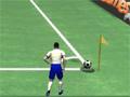 Crossing Cup é um jogo de futebol em um grande campeonato de cruzamento, seu time esta formado por 3 Jogadores, 2 receberam o objetivo de cruzamento e chute e 1 é o seu goleiro, analise o jogo e elabore um cruzamento fantástico para que seu parceiro consiga chutar de primeira e marcar um belo Golaço, fique esperto com o seu goleiro também e não deixe o time adversário marcar nenhum gol, divirta-se com este novo jogo.
