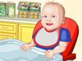 Jogo - Cuidar do Bebê, Seja uma incrível companheira deste bebê, Sirva comida nos momentos exatos, Troque sua fralda sempre que for necessário, Seja uma mãe super Carinhosa e traga toda a felicidade para este lindo bebê.