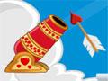 Cupid Exam - Seja habilidosa para acertar os corações sobre os obstáculos. Com o seu canhão ajuste o ângulo perfeito e dispare para acertar o alvo, quanto menos tentativas mais pontos marcará.