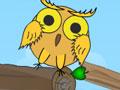 Você tem que acordar a coruja para que ela saia rolando e toque no gongo. Use objetos em algumas fases para te ajudar a não deixar a coruja cair do tronco. Acerte no alvo para prosseguir na próxima fase.