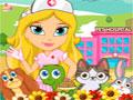 Cute Pet Hospital - Ajude os bichinhos que estão doentes. Leve-os para serem examinados e depois para sala de medicação, observe cada animal e descubra o que realmente eles tem.