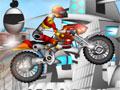 Cyber Rider, Pilote a sua moto sem capotar, seu objetivo é passar por cima de todos os obstáculos que estiver na sua frente, divirta-se com um ambiente futurístico e muito moderno, complete todos os níveis do jogo.