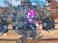 Neste jogo seu objetivo é ajudar seus amigos que foram seqüestrados por um grande cavaleiro malvado, enfrente e use todas as suas habilidades na luta contra o mal, faça seqüencias de golpes e vença esta batalha.