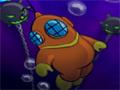 Neste jogo você tem que ajudar o mergulhador a escapar de todos os perigos que tem no fundo do mar.