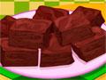 Delicious Chocolate Browies - Mostre todo o seu talento culinário. Siga a receita de brownies de chocolate, use cada ingrediente corretamente para que os biscoito fiquem deliciosos.