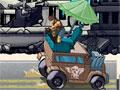 Delivery Man - Com o caminhão em movimento tente sobreviver dos ataques. Com a cidade quase totalmente destruida atire nos inimigos que estão tentando te matar, tenha um bom desempenho para adquirir novos armamentos.