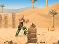 Em Desert Ambush, seu objetivo é encontrar uma tumba misteriosa e eliminar a maldição que ela tem, durante o seu caminho você tem que tomar muito cuidado com as caveiras que saem do chão, e com as cobras e escorpiões. Pegue os cantis com água para você se manter no calor do deserto.