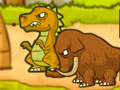 Dino Attack - Impeça que os dinossauros invadam seu território. Tenha uma boa pontaria para eliminar cada criatura, complete cada desafio o mais rápido que conseguir.