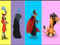 Disney Villains Colours Memory -  Memorize a sequência de cores do cenário. Observe atentamente para reproduzir o som e completar todos os cartões, muita atenção pois um erro fará você começar do zero.
