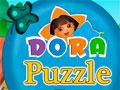 Dora Puzzle Fun - Monte o quebra-cabeça de Dora a aventureira. Clique sobre os blocos para trocar de posição para formar a imagem correta, seja ágil para o tempo não esgotar.