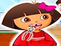 Dora The Explorer Perfect Teeth - Dora Aventureira precisa de ir ao dentista com urgência. Use cada instrumento para começar o tratamento dentário, elimine todas cáries e extraia o dente correto para deixar ela com um sorriso lindo.