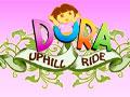 Dora Uphill Ride - Entre em mais uma aventura de Dora. Ande em sua bicicleta pela mata, pedale para pegar velocidade, desvie de obstáculos e tenha cuidado para não derrubar a aventureira.