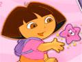 Dora Vivid Stars - Forme trinca com as estrelas da Dora. Use o racioc�nio e agilidade clicando nos grupos de tr�s ou mais pe�as da mesma cor para retirar do tabuleiro.