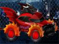 Jogo Dragon Rider, pilote um carro no formato de um dragão nas profundezas do inferno, atropele todas as almas penadas que estão no seu caminho e tome muito cuidado para não capotar com os obstáculos.
