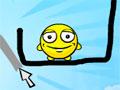 Draw A Line - Seja �gil para manter as carinhas felizes. Fa�a um risco para proteger as criaturas amarelas, recolha tamb�m algumas estrelas pelo cen�rio.