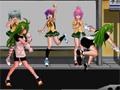 Um Jogo de luta com uma excelente jogabilidade. Com as lutadoras de colegiais de comic manga.