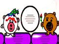 Dude Bear Level Pack - Ajude o ursinho a conquistar a amada. Recolha todos os corações pelo caminho, clique sobre as plataformas para retirar do cenário e tenha muito cuidado para não acertar a ursinha.