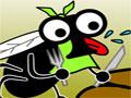 Jogo Dung, um game um pouco nojento, você é um mosquito e seu objetivo é passar em todos os