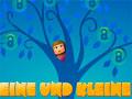 Eine Und Kleine - Os dois amigos estão precisando de sua ajuda para passar pelo labirinto. Recolha as estrelas e o guarda-chuva que faz você saltar mais alto, só atravesse o portal quando estiver o número suficiente de estrela.