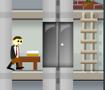 Ajude nosso amigo a chegar a seu escritório, mas para isso precisar subir até o último andar e desviar dos elevadores.
