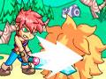 Enola Prelude - Lute contra os inimigos para defender seu povo. Use suas habilidades nesse combate, escolha um golpe que mais se adequada ao seu oponente e vença cada um dos guerreiros da cidade de Enola.