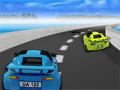 Extreme Racing 2, Você está em alta velocidade com seu carro de corrida e seu objetivo neste game é permanecer o maior tempo possivel na pista sem colidir. Desvie de todos os carros, cones e manchas na pista. Ganhe muitos bônus com suas habilidades.