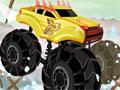 Jogo - Extreme Trucks, Pilote um poderoso Truck e dispute uma corrida com diversos obstáculos e um caminho totalmente desafiador. Seja um motorista eficiente e complete todo o circuito o mais rápido possivel.