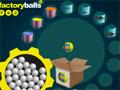 Factory Balls 4 - Você é um dos funcionários de uma fábrica de bolas. Sua missão é fazer cada uma de acordo com sua caixa correspondente, seja rápido e esperto para dar conta da produção.