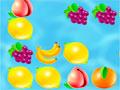 Falling Fruit - Controle as frutas que estão descendo pela tela. Direcione elas para formarem grupos da mesma família para serem eliminadas.