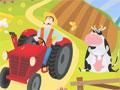 Você tem uma grande fazenda onde cultiva legumes e hortaliças. Com seu trator recolha os vegetais e leve até o mercado da cidade com cuidado para não derrubar nada pelo caminho e assim continuar sua entrega.