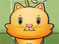 Feed Kitty - Sua tarefa é alimentar o seu gato que adora comer. Ele pensa em um alimento e você rapidamente o serve. Deixando seu bichano muito feliz. Divirta-se!
