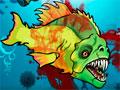 Feed Us 4 - Se aventure em mais uma com o peixe assassino agora dentro de um avião. Destrua tudo pelo caminho e devore o máximo de pessoas que conseguir, cumprindo seus objetos no jogo e encontrando tesouros escondidos.