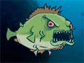Feed Us - Alimente seu exército de piranha. Não perca tempo quando aparecer um humano salte sobre ele para se alimentar, o sangue é que vai te dar força, seja rápido antes que o tempo acabe e depois faça um upgrade.