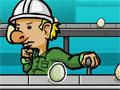Jogo - Firing Day, Seu novo emprego requer muito da sua atenção. Seu objetivo neste game é detectar quais ovos estão quebrados e retirá-los da esteira. Seja eficiente no seu primeiro dia de trabalho para não ser demitido.