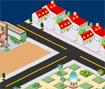 Monte sua própria cidade, construindo ruas, casas, empresas, edifícios, escolas, etc...