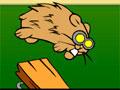 Fligth Of The Hamsters - Os hamsters precisam de uma ajudinha para alcançar a meta. Clique sobre eles para voarem e depois clique no travesseiro para jogá-los o mais longe possível, quanto maior for a distância mais pontos terá.