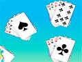 Flower Solitare - Jogue o jogo de paciência com motivos de flores. Coloque as cartas sobreposta  alternando as cores e em ordem decrescente, fique atento com o relógio para perder a jogada.
