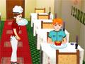 Jogo Food Mania, você acabou de encontrar um novo emprego e precisa mostrar eficiência no tempo de experiencia, atenda todos os clientes de um grande e movimentado restaurante, anote todos os pedidos e sirva todos com muita rapidez, receba o dinheiro e limpe todas as mesas após o cliente ter saído, divirta-se!