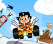 Um emocionante corrida pelo deserto, escolha o seu personagem e use suas habilidades para vencer a competição!