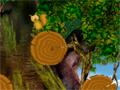 Em Forest Trip seu objetivo é ajudar o esquilo subir até o topo, pegando todos os itens que conseguir pelo caminho.