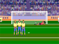 Free Kick Madness é mais um Jogo de Futebol aonde você precisa calcular o chute correto sem tocar na barreira e que consiga enganar o goleiro que esta muito esperto para seu chute, faça muitos gols e passe por todos os níveis do game.