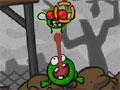 Frogout - Ajude o sapo a se alimentar. Use a super língua para pegar as moscas gigantes pelo cenário, grude sobre os objetos para conseguir chegar mais perto do seu alvo.