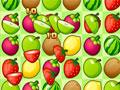 Fruit Joy HD - Troque as posições das frutas no tabuleiro. Você tem uma quantidade de alvo para ser retirada da tela para concluir cada fase, então seja ágil para completar cada uma.