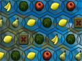 Fruit Sliders, Esse � um saboroso jogo. Voc� tem que conseguir fazer um grupo com quatro frutas iguais para marcar pontos, podendo troca-las de lugar da maneira que achar melhor. Seja r�pido pois o tempo � seu inimigo neste game.