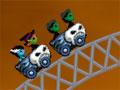 Ghost Train Ride - Controle uma montanha russa cheia de monstros. Sua missão é manter os carrinhos no trilho tomando cuidado com as descidas para não haver quedas, assim os passageiros vão se divertir muito.