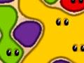 Gluey 2 - Você tem que ser rápido para eliminar as bolhas da jogada. Estoure antes de formem um grupo muito grande e encha o recipiente de gosma colorida, não perca tempo em cada fase.
