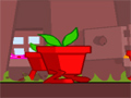 Neste jogo você tem que seguir sempre em frente com a planta que esta maluca, porem não encoste em nenhum obstaculo, e consiga o maior numero de dinheiro que aparecer em seu caminho.