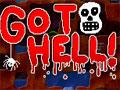 Jogo - Go to Hell, Faça suas escavações até chegar no inferno. Evite todos os perigos que encontrar no caminho, recolha comida e itens bônus. Preste atenção com as larvas e morcegos que estão prontos para atacar você. Seja rápido com suas perfurações.