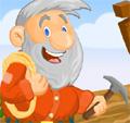 Mais um jogo de capturar ouro e minérios no tempo disponível. Use a seta de direção para baixo para lançar o gancho. Para lançar uma dinamite use a seta para cima.